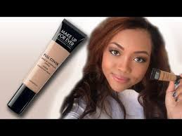 review makeup forever full cover