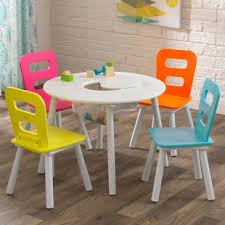 storage kids 5 piece table and chair set