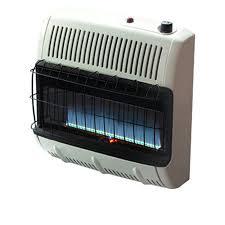 blue flame propane heater heatstar