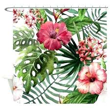 shower curtain unique hawaiian and accessories