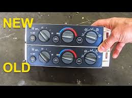 air conditioning control panel 1995 to 1999 suburban tahoe yukon air conditioning control panel 1995 to 1999 suburban tahoe yukon sierra silverado