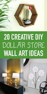 20 creative diy dollar wall art ideas
