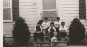 ronnie claeson front left to right middle jack heslin david claeson kevan