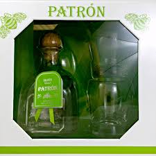patron silver tequila gift set with 2 gles clic signature blanco tequila from patron big taste big satisfaction spiritedgifts