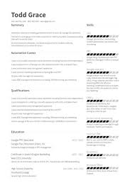 Marketing Manager Resume Best Marketing Manager Resume Samples VisualCV Resume Samples Database