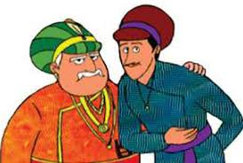 Image result for बीरबल की लेटने की आदत