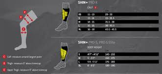 Nike Shin Guard Sleeve Size Chart Nike Soccer Shin Guards Size Chart Bedowntowndaytona Com