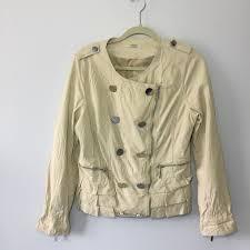 vertigo paris vegan leather jacket sz m
