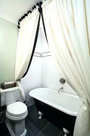 claw foot bathtub shower bathtub shower curtain inch shower curtain bathroom craftsman with bath bathroom black