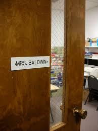 classroom door. High School Classroom Door New On