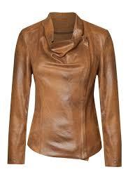 dex vegan leather jacket front full image