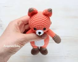 Crochet Fox Pattern Stunning Cuddle Me Fox Amigurumi Pattern Amigurumi Today