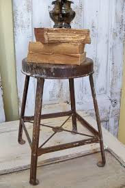 distressed industrial furniture. distressed stool vintage industrial furniture by anitasperodesign 8000 i