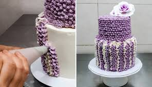Simple Cake Decorating Designs CROCHET Buttercream Cake Technique by CakesStepbyStep YouTube 42