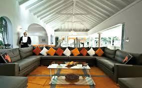 big sectional sofas two tones huge sofa bright colors cushion orange grey stripped carpet plain white big sectional sofas