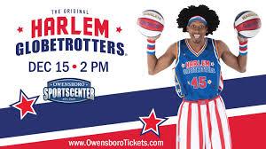 Owensboro Sportscenter Concert Seating Chart The Harlem Globetrotters Owensboro Sportscenter