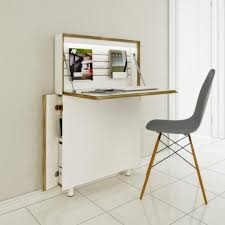 Short On Space Try These Compact Home Office Desks with Narrow Office Desk