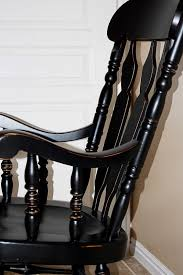 how to refinish a wooden rocking chair designs