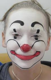 clown makeup by paintedblind