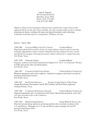 Sample Federal Resume Attorney Position