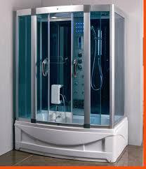 steam shower room with deep whirlpool tub bluetooth 9001 heavy duty image 1