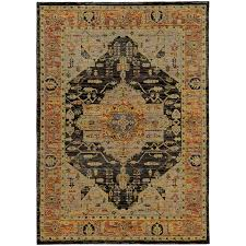 oriental weavers andorra 7138b gold grey area rug