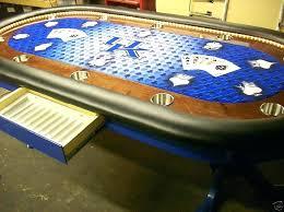custom poker tables. Lovely Custom Poker Tables University Of Wildcats Logo College Sports Felt Team Colors .