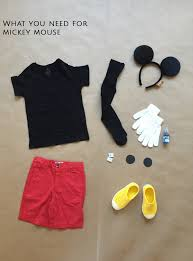 disney s mickey mouse mickey mouse costume