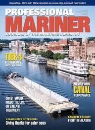 Professional Mariner December January 2017 By Navigator Publishing