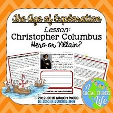 best age of exploration images social science  christopher columbus hero or villain students debate
