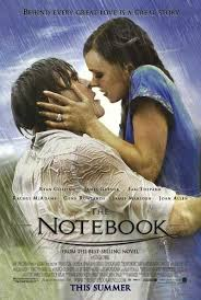 "movie review the notebook  the movie stars a scene where a guy d ""duke"" is telling a story to an old lady who s staying in a hospital it s about a ""boy and girl"" story"