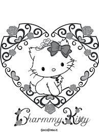 Disegni Di Hello Kitty Da Colorare Giocabimbo