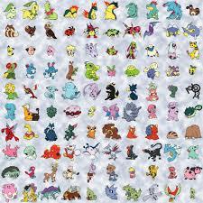 pokemon second gen list - Google Search | Pokemon, Pokemon silver, Gold  pokemon