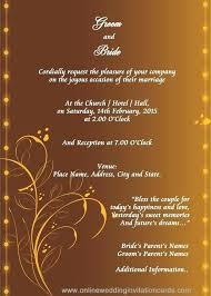 design templates for invitations indian wedding card design templates wedding invitation design