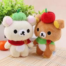 Easy Bear <b>Plush</b> Doll Figurine Bear Doll Creative Mobile Phone ...