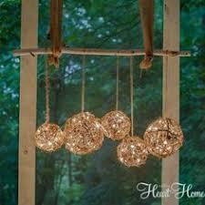 diy outdoor lighting ideas. DIY: Outdoor Chandelier - Easy \u0026 Inexpensive Lighting Tutorial Using String  Lights Grapevine Balls Diy Outdoor Ideas