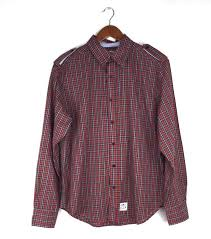 Купить <b>Crooks & Castles</b> Mens Lg Red Green Plaid на eBay.com из ...
