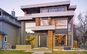 saville homes calgary custom home builder custom inner city infill