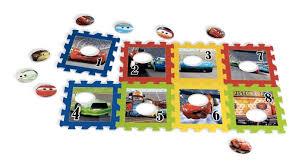 Tappeto Morbido Minnie : Disney cars tappeto gioco puzzle tessere