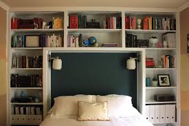 Bookcase headboard queen Bed Frames and Headboards | The Rest of the ...