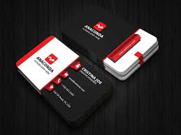 2019 Business Card Designs 3d Business Card Template