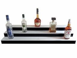 Bar Bottle Display Stand Stunning LED Lighted Back Bar Liquor Bottle Display Stand System 32 Metre