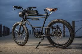 check out the stylish scrambler e bike