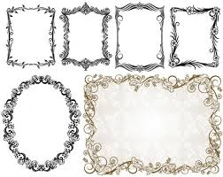 Free Border Downloads For Word Free Ornate Borders For Word Free Vector Download 106 779