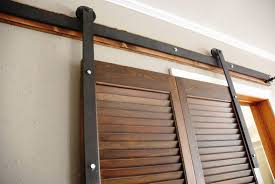 image of beautiful interior barn door hardware