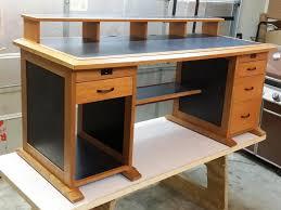 wooden computer desk plans