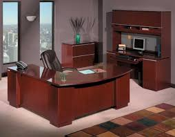 good shaped desk office. Executive L Shaped Desk Flexsteel Rue De Lyon In Ruby Cabernet Good Office Y