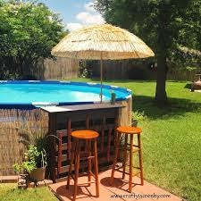 pool bar furniture. 40 uniquely awesome above ground pools with decks pool bar furniture a