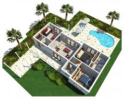 remarkable modern house floor plans with swimming pool plan design