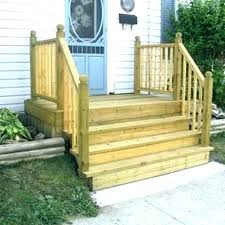 outdoor wood steps wooden front and deck living prefab stairs pref prefab wooden steps outdoor